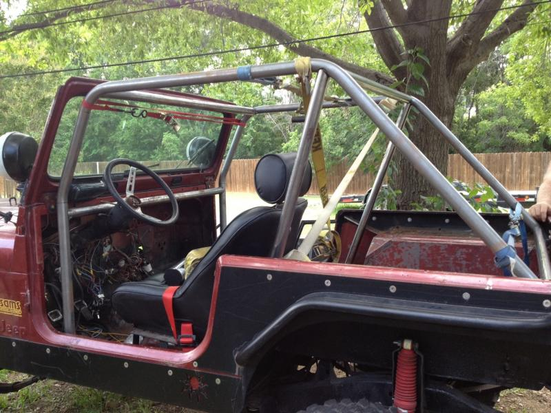 4 Seat Roll Cage Question Cj7 Pirate 4x4