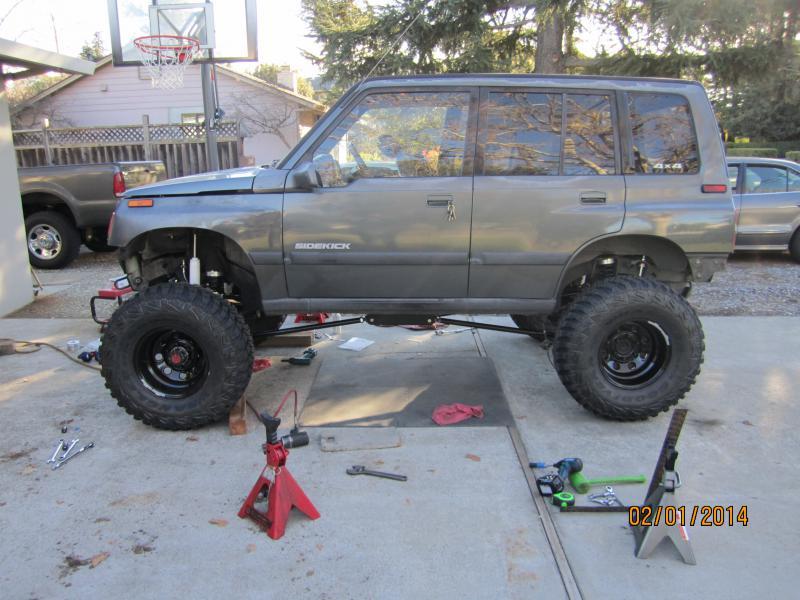 San Jose Toyota >> Sidekick build Toyota axle swap - Pirate4x4.Com : 4x4 and Off-Road Forum