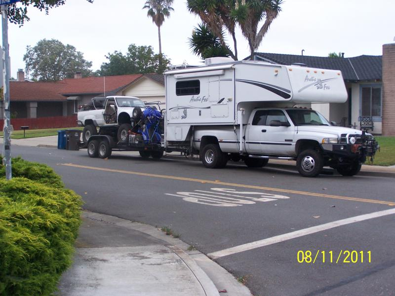 Handling large Cabover Campers - Pirate4x4 Com : 4x4 and Off