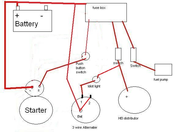 small block chevy starter wiring diagram   40 wiring