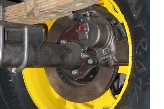 Jeep Wagoneer Dana 44 disc brake conversion kit