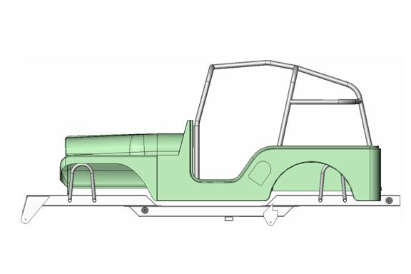what chassis for willys build? - Pirate4x4.Com : 4x4 and Off-Road Forum