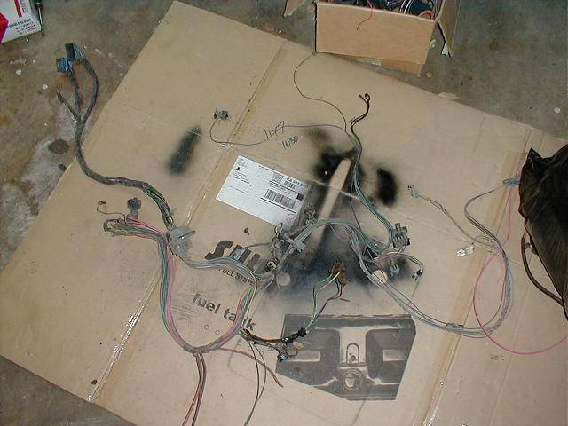 Working a stock TBI harness for conversions(picture