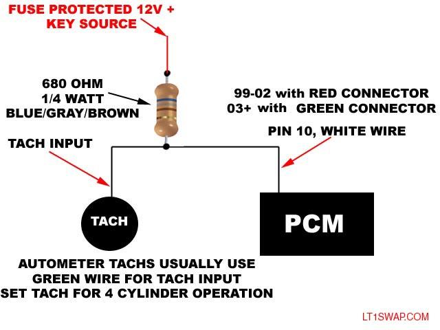 ls motor tach question