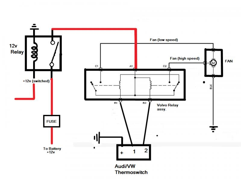 Anybody use the volvo 2 sd fan relay? - Pirate4x4.Com ... on volvo tools, volvo battery, volvo fuse box location, volvo 740 diagram, volvo truck radio wiring harness, volvo maintenance schedule, volvo sport, volvo snowmobile, volvo brakes, volvo exhaust, volvo girls, volvo yaw rate sensor, volvo dashboard, volvo type r, international truck electrical diagrams, volvo s60 fuse diagram, volvo xc90 fuse diagram, volvo relay diagram, volvo ignition, volvo recall information,