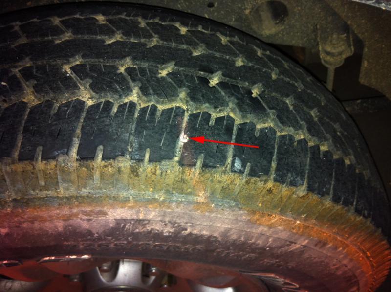 tire tech  chit chat  close  sidewall   nail  fixed piratexcom