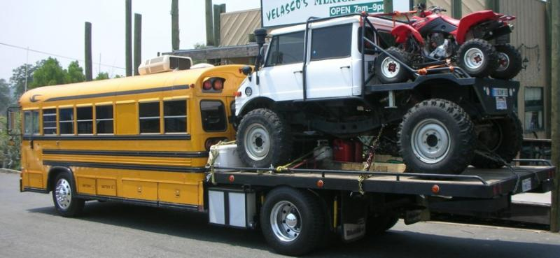 Pros Cons On School Bus Hauler Page 2 Pirate4x4 Com