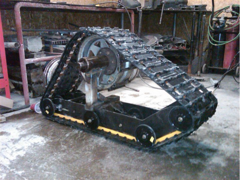 Jeep Liberty Truck Conversion >> tracked vehicle build up - Pirate4x4.Com : 4x4 and Off-Road Forum