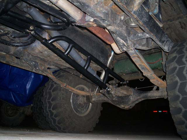 Ladder Bars When Used With Leaf Springs You Can Have A Either A Single Ladder Bar Like This