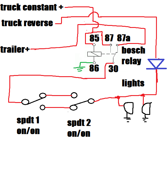 trailer wiring with diode pirate4x4 com 4x4 and off road forum rh pirate4x4 com wiring a rectifier diode wiring a zener diode