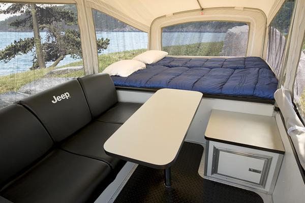 2011 Jeep trail edition camper