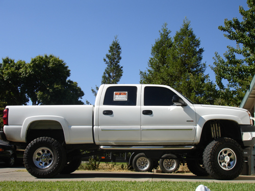 Duramax Diesel For Sale >> 2004 Chevy 2500hd Duramax Diesel 8 10 Lift 37 S Edge