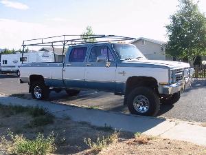 1984 Chevy 1 Ton Crew Cab 4x4 Autos Weblog | Autos Post