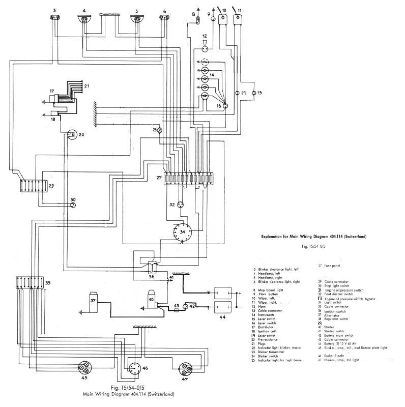 Unimog Wiring Diagram