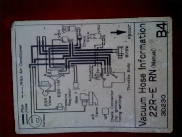22R, 22RE, 22RTE Vacuum Diagrams | Pirate 4x4Pirate 4x4
