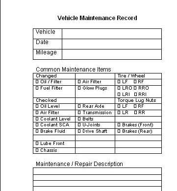 vehicle maintenance log pirate4x4 com 4x4 and off road forum