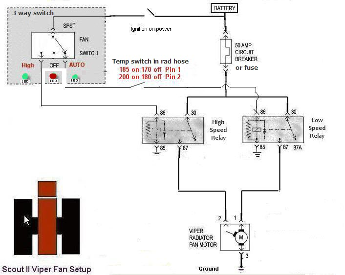 mark viii fan install ih parts america here s a diagram too