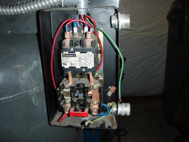 Shop Air Compressor Wiring