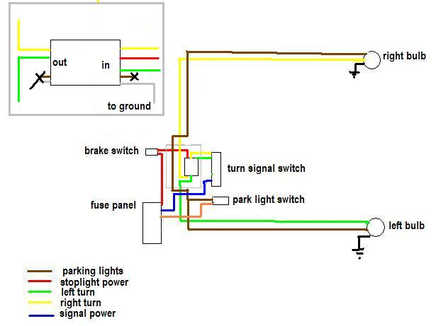 Turn Signal Brake Light Wiring Diagram from www.pirate4x4.com