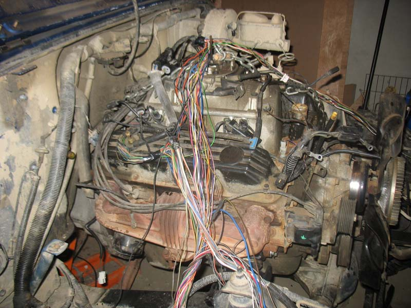 584985 5 2 magnum yj swap wiring 1 pirate4x4 com 4x4 and off road forum 5 2 magnum yj swap Jeep YJ V8 at aneh.co