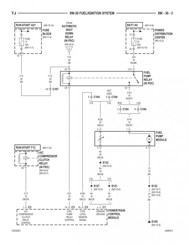 Fuel Cell Sending Unit Wiring Diagram from www.pirate4x4.com