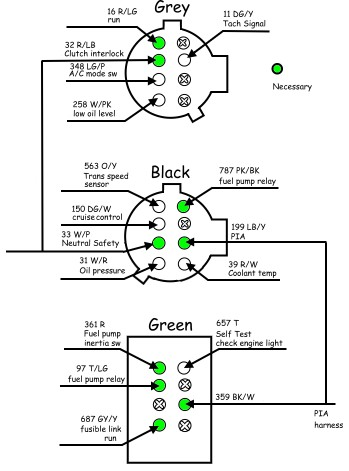 87 Mustang Wiring Diagram 302