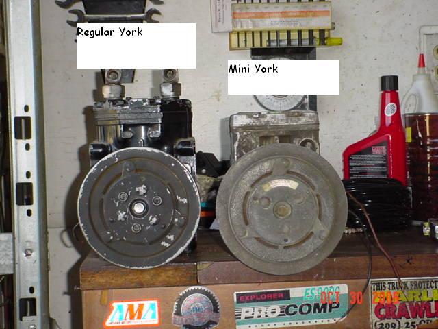 Mini York AC compressor - Pirate4x4 Com : 4x4 and Off-Road Forum
