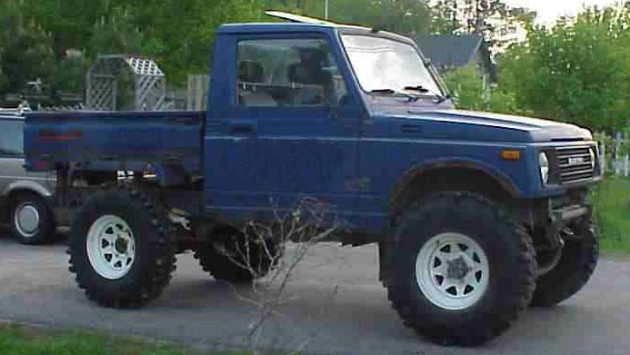 Suzuki Samurai Wheelbase