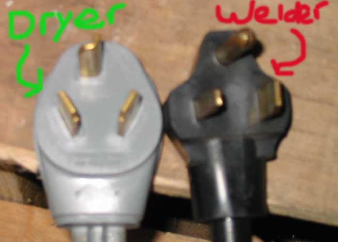 Dryer To Welder Wiring Verification  Picture Included