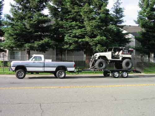 1992 dodge ram 2500 towing capacity