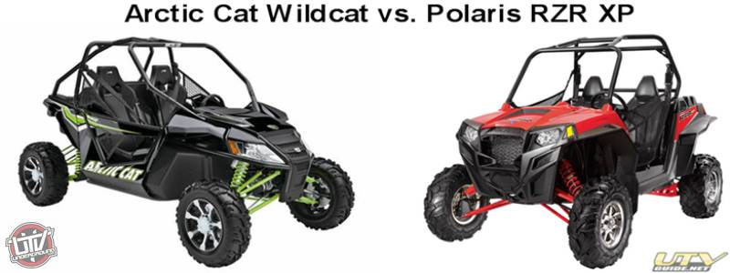 Polaris RZR XP 900 vs. Arctic Cat Wildcat 1000