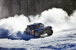 Bryce Menzies Throwing Snow - Photo Courtesy Red Bull