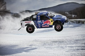 Ricky Johnson Flying to Victory - photo courtesy of Red Bull