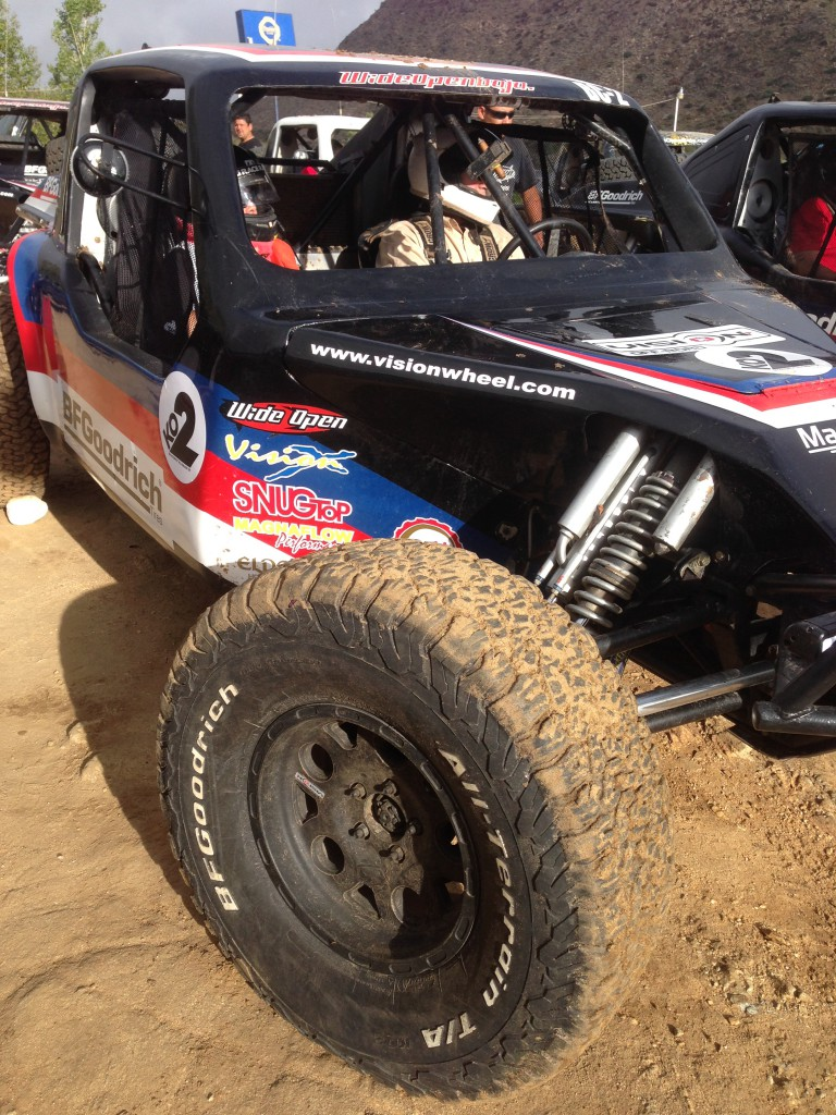 This Baja Challenge car won the 2013 Baja 1000 with this actual set of BFG KO2s. They are still tearing up the desert!