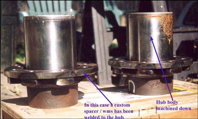 14 bolt hubs on a dana 60? - Pirate4x4 Com : 4x4 and Off-Road Forum