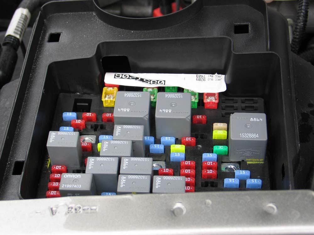 IMG_8538 07 silverado fuse box under hood fuse panel diagram lstech brake