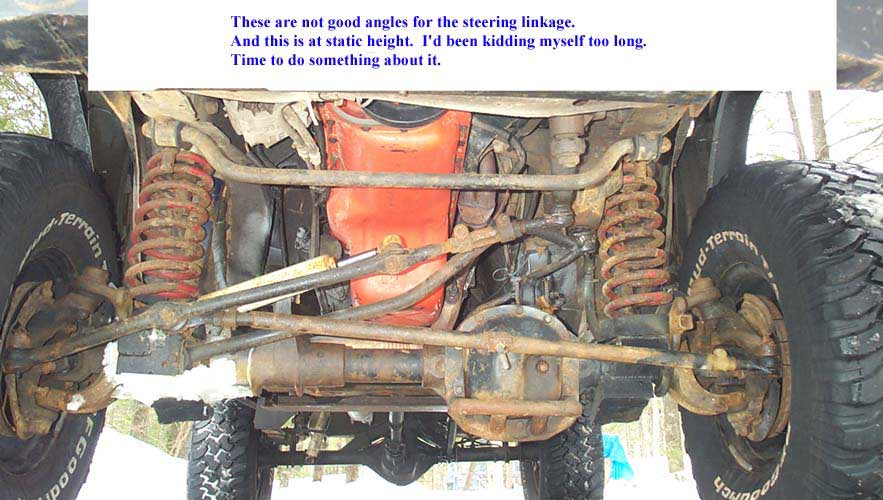 Jeep XJ front leafspring conversion