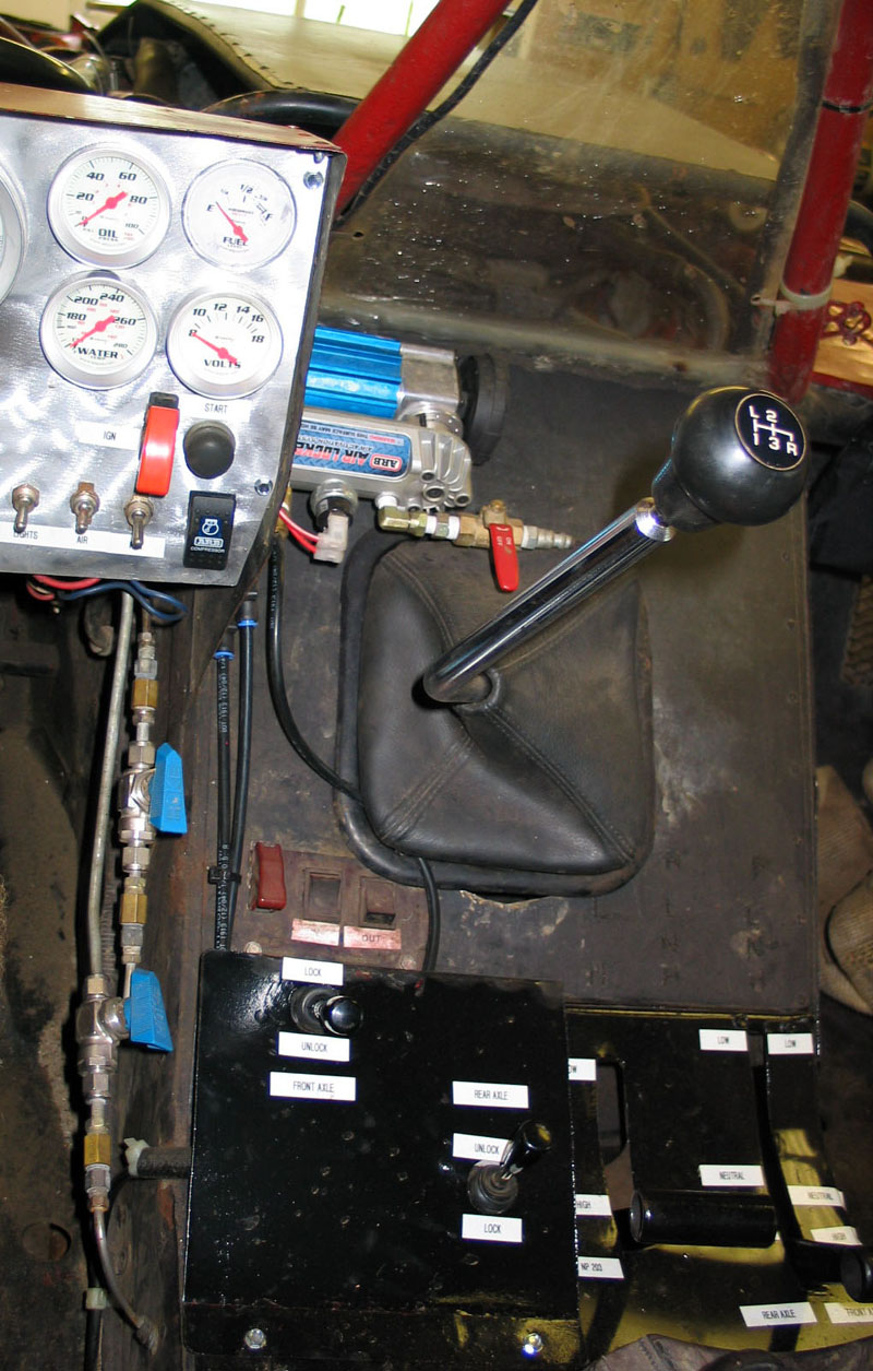 Arb Cksa12 Compact Onboard Air Kit Locker Wiring Harness Diagram I Mounted My New Compressor Inside The Rig Up Beside Dash This Way Its Kept Reasonably Clean And Dry Has Decent Supply