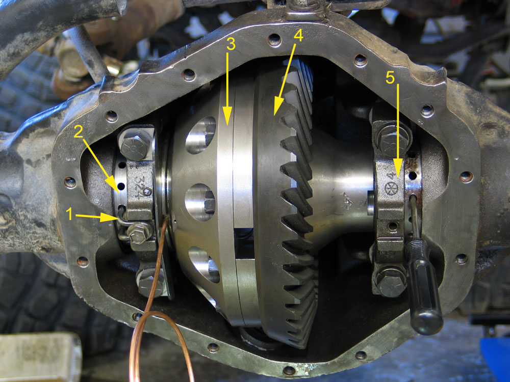 14 bolt gear setup GM 14 Bolt Axle Diagram