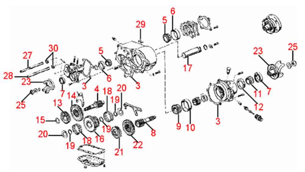4WD not working  |All Wheel Drive Transfer Case Diagram