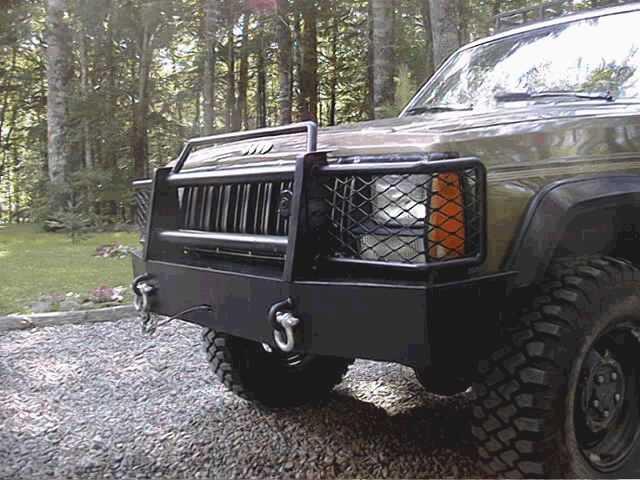 Custom Home Made Front Bumper