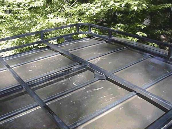 Heavy duty roof racks for 110 weight lifter bracket system tr rack