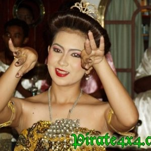 Thai nese dancer