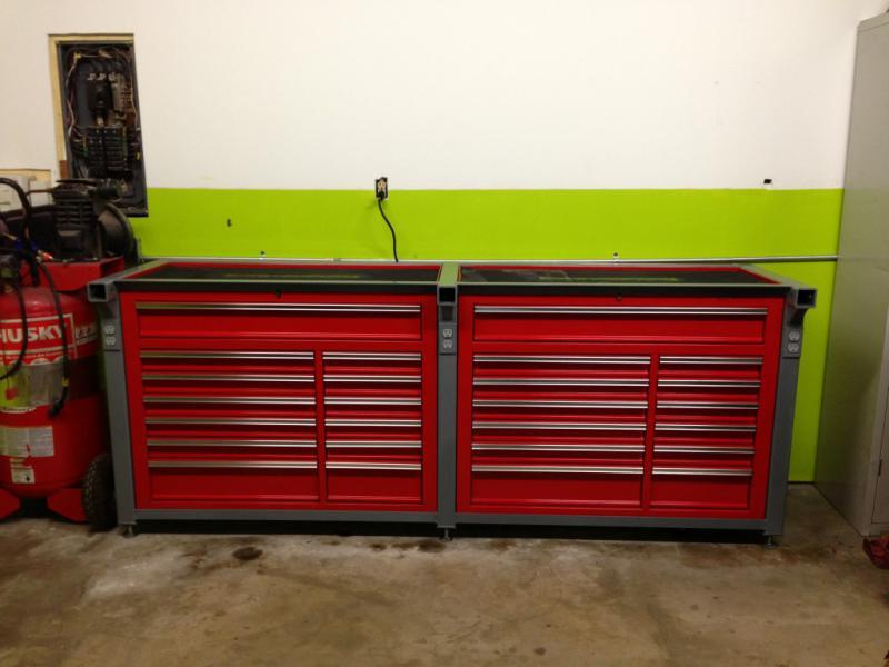Car Garage Work Bench