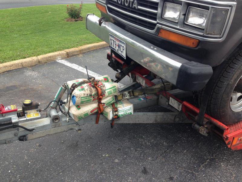 Penske Car Carrier Trailer Rental W Large Tires My Experience