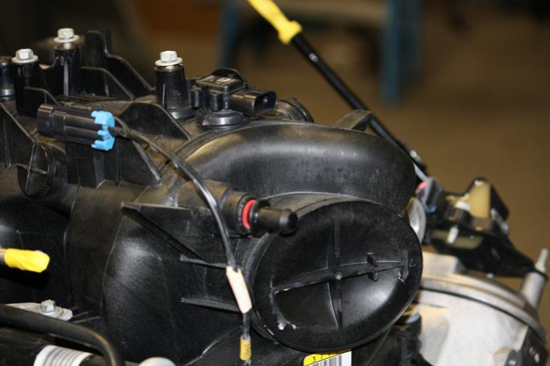 power brake booster vacuum hookup